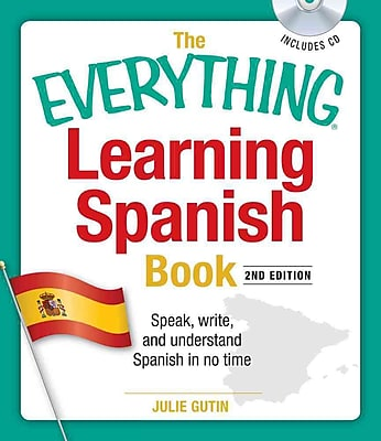 The Everything Learning Spanish Book Julie Gutin Paperback