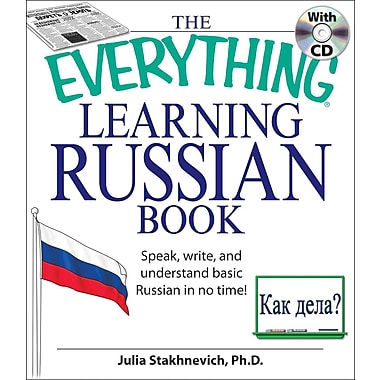 The Everything Learning Russian Julia Stakhnevich Paperback