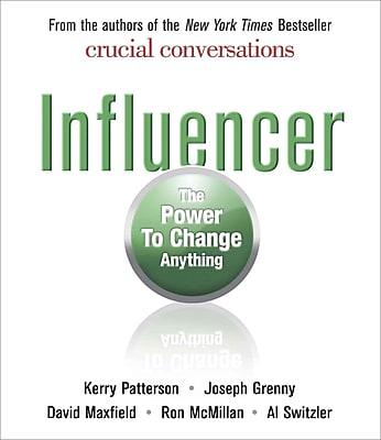 Influencer Joseph Grenny , David Maxfield , Kerry Patterson , Ron McMillan , Al Switzler Audiobook