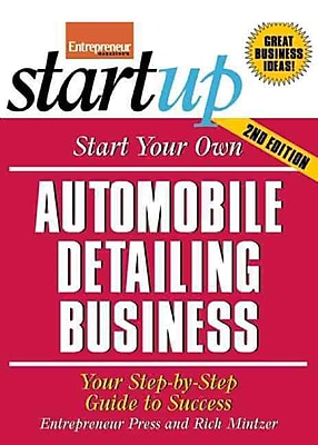 Start Your Own Automobile Detailing Business Entrepreneur Press Paperback