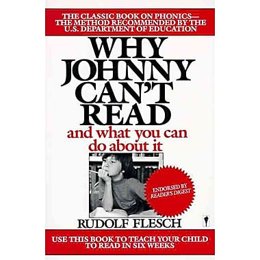 Why Johnny Can't Read Rudolf Flesch Paperback