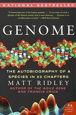 Genome Matt Ridley Paperback