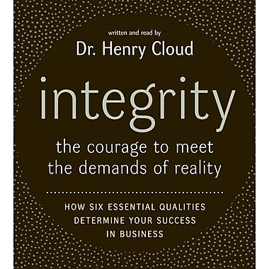 Integrity CD Henry Cloud Audiobook CD