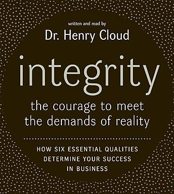Integrity CD Henry Cloud Audiobook CD