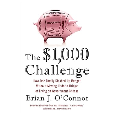 The $1,000 Challenge Brian J. O'Connor Paperback