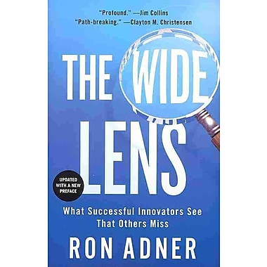 The Wide Lens Ron Adner Paperback