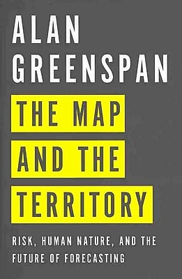 The Map and the Territory Alan Greenspan Hardcover