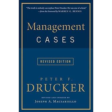 Management Cases Peter F. Drucker Paperback