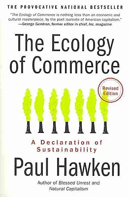 The Ecology of Commerce Revised Edition Paul Hawken Paperback