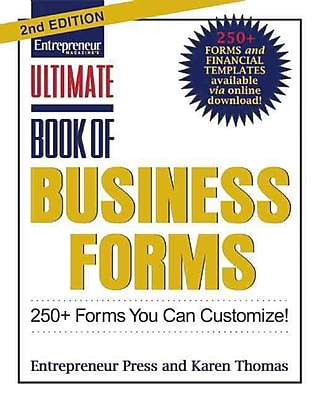 Ultimate Book of Business Forms Entrepreneur Press Paperback