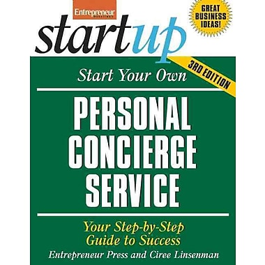 Start Your Own Personal Concierge Service Entrepreneur Press Paperback