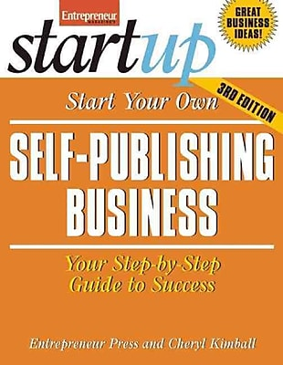 Start Your Own Self-Publishing Business Entrepreneur Press, Cheryl Kimball Paperback