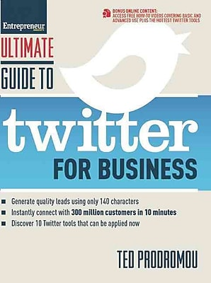 Ultimate Guide to Twitter for Business Ted Prodromou Paperback