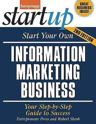 Start Your Own Information Marketing Business Entrepreneur Press, Robert Skrob Paperback