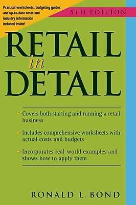 Retail In Detail Ronald L. Bond Paperback