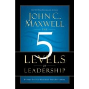 The 5 Levels of Leadership John C. Maxwell Hardcover
