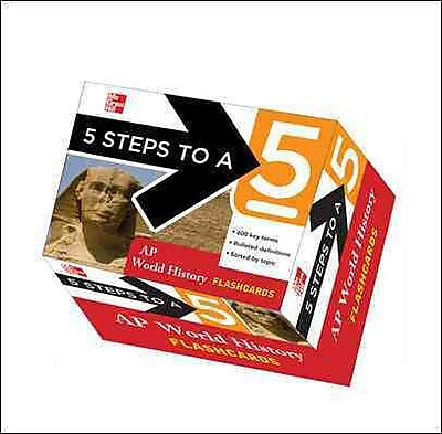 5 Steps to a 5 AP World History Flashcards Peggy Martin Paperback