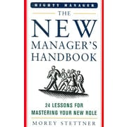 The New Manager's Handbook Morey Stettner  Hardcover