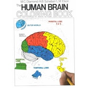 The Human Brain Coloring Book  Marian C. Diamond, Arnold B. Scheibel Paperback