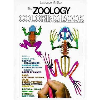 The Zoology Coloring Book Lawrence M Elson Paperback