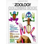 The Zoology Coloring Book Lawrence M. Elson Paperback