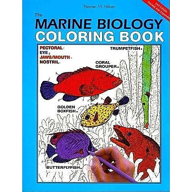 The Marine Biology Coloring Book Thomas M. Niesen Paperback
