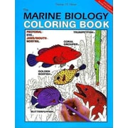 The Marine Biology Coloring Book Thomas M. Niesen  Paperback