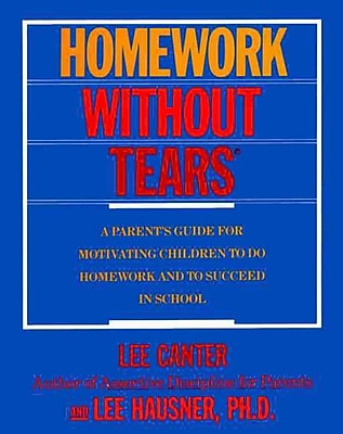 Homework Without Tears Lee Canter Paperback
