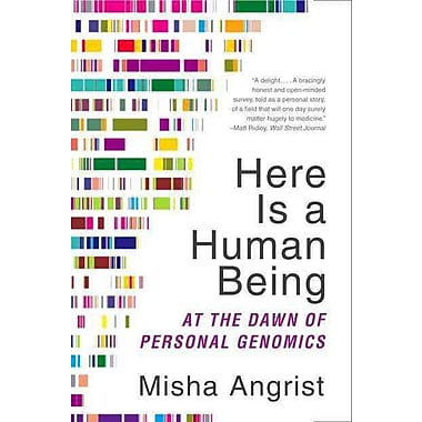 Here Is a Human Being Misha Angrist Paperback
