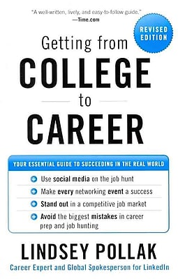 Getting From College To Career Lindsey Pollak Paperback