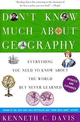 Don't Know Much About Geography Kenneth C. Davis Paperback