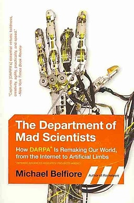 The Department of Mad Scientists Michael Belfiore Paperback