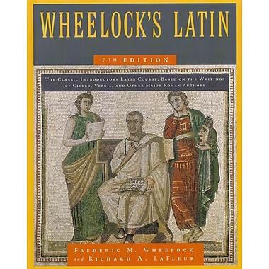 Wheelock's Latin Richard A. LaFleur Hardcover