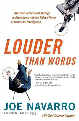 Louder Than Words Joe Navarro , Toni Sciarra Poynter Hardcover