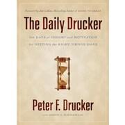 The Daily Drucker Peter F. Drucker Hardcover
