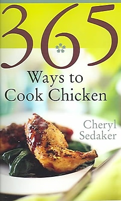 365 Ways To Cook Chicken Cheryl Sedeker Plastic Comb