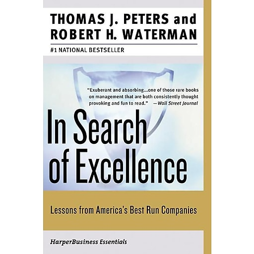 In search of excellence thomas j peters robert h waterman jr httpsstaples 3ps7is publicscrutiny Gallery