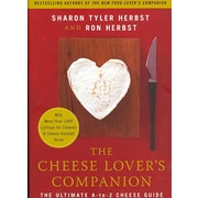 The Cheese Lover's Companion Sharon Tyler Herbst , Ron Herbst Paperback