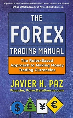 The Forex Trading Manual Javier Paz Hardcover