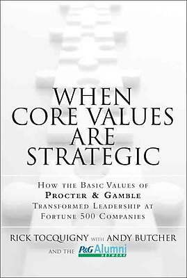 When Core Values Are Strategic Rick Tocquigny Hardcover