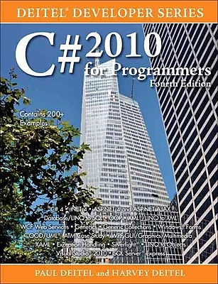 C# 2010 for Programmers Paul J. Deitel , Harvey M. Deitel Paperback