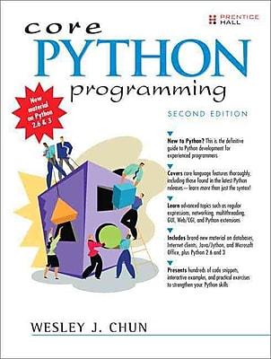 Core Python Programming Wesley Chun Paperback