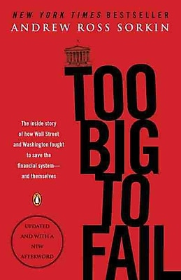 Too Big to Fail Andrew Ross Sorkin Paperback
