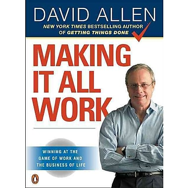 Making It All Work David Allen Paperback