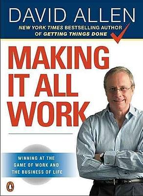 Making It All Work David Allen Paperback