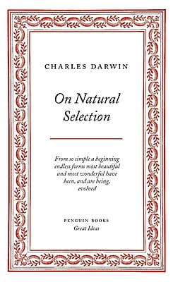 On Natural Selection (Penguin Great Ideas) Charles Darwin Paperback