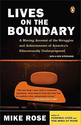Lives on the Boundary Mike Rose Paperback