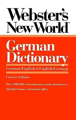 Webster's New World German Dictionary: German/English English/German Peter Terrel, Horst Kopleck