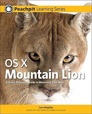 OS X Mountain Lion: Peachpit Learning Series Lynn Beighley Paperback