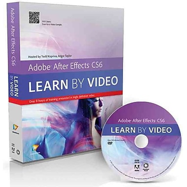 Adobe After Effects CS6: Learn by Video Angie Taylor , video2brain , Todd Kopriva Paperback